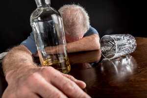 A man needs alcohol withdrawal treatment.