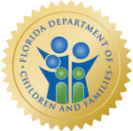Florida Department of Children and Families seal.