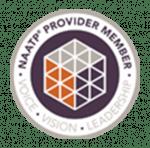 NAATP Provider Member seal.